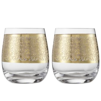 Carezza Tumbler Short Glasses (Set of 2)