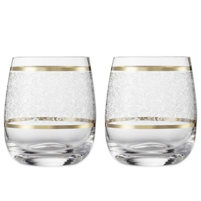 Carezza Tumbler Slim Short Glasses (Set of 2)