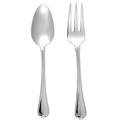 Fortessa Stainless Steel San Marco 2-Piece Serving Set