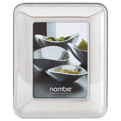 Nambe Braid 5-Inch x 7-Inch Frame