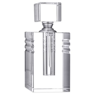 Orrefors Ice Tall Perfume Bottle