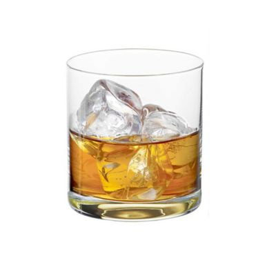 Gentleman Gold Whisky Tumbler Glasses (Set of 2)