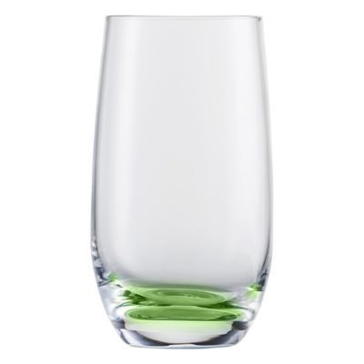 Jessica Tumbler Glasses in Green (Set of 2)