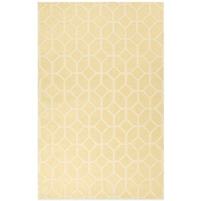 Jaipur Metro Maryse 5-Foot x 8-Foot Area Rug in Yellow