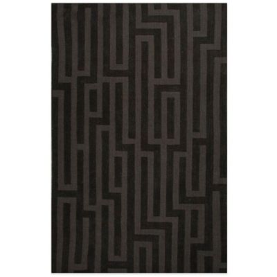 Jaipur Metro Aarika 2-Foot x 3-Foot Area Rug in Black