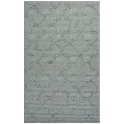 Jaipur Metro Kaitlan 5-Foot x 8-Foot Area Rug in Grey