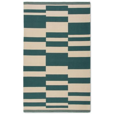 Naples Stripe 7-Foot x 10-Foot Indoor/Outdoor Rug