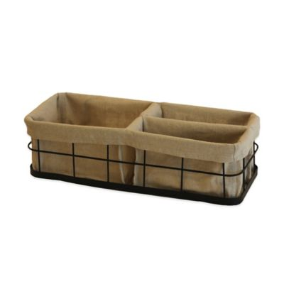 Liverpool Divided Tank Basket