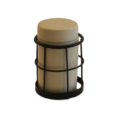 Liverpool Ceramic Jar with Metal Jar Holder