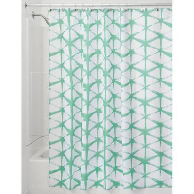 InterDesign® Diamond Batik Shower Curtain