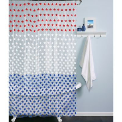 Colorful Vinyl Shower Curtains