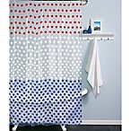 PEVA Stars Shower Curtain