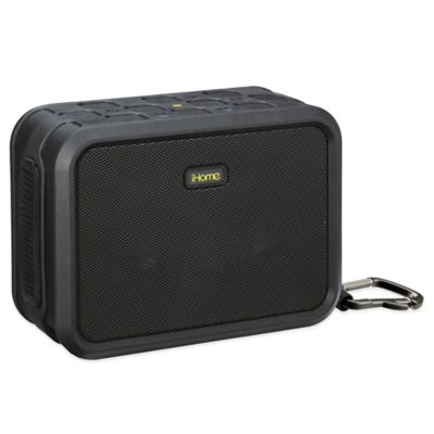 iHome® Rugged Waterproof Wireless Bluetooth® Speaker