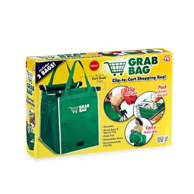 Grab Bag™ Reusable Shopping Bag (Set of 2)