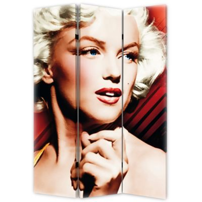Marilyn Monroe Red Spotlight Folding Screen