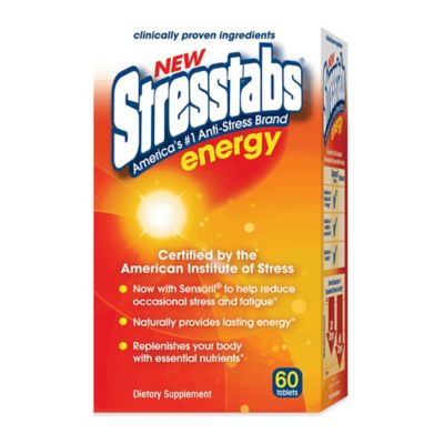 Stresstabs® Energy 60-Count Stress Relief Tablets
