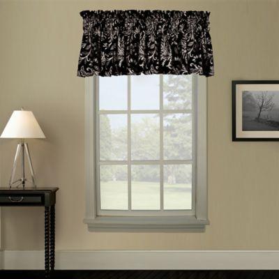 Pargo Window Curtain Valance in Red