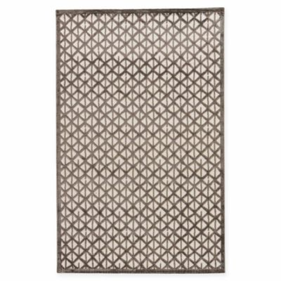 Jaipur Fables Stardust 7-Foot 6-Inch x 9-Foot 6-Inch Area Rug in Ivory/Grey