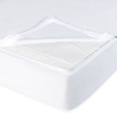 Clouds and Stars™ QuickZip® Zipper Base and Zipper Sheet Set in White