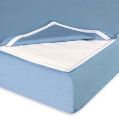 Clouds and Stars™ QuickZip® Zipper Base and Zipper Sheet Set in Blue