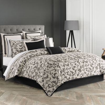 Wedgwood® Acanthus California King Comforter Set