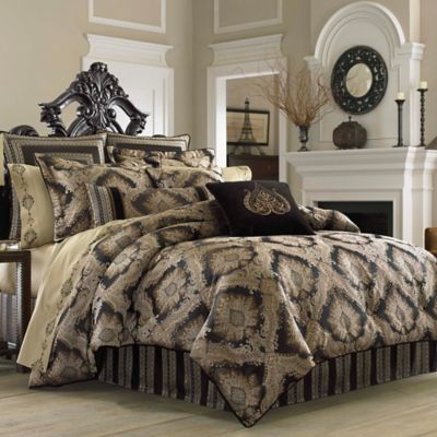 J. Queen New York Onyx California King Comforter Set