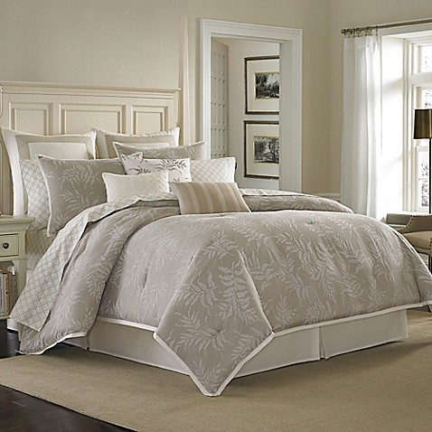 Laura Ashley Bracken Leaf Comforter Set Bed Bath Beyond