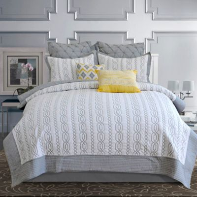 Modern Grey Twin Quilts