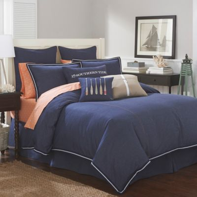 Southern Tide Indigo Queen Comforter Set in Indigo