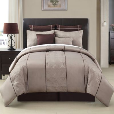 Warren 8-Piece Queen Comforter Set