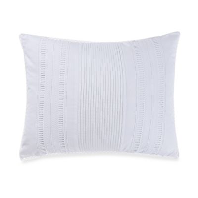 New York Botanical Gardens Liana Oblong Throw Pillow in White