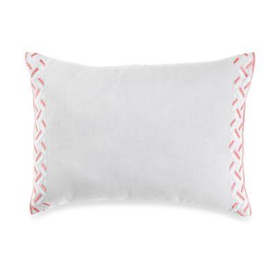 Wedgwood® Wild Strawberry Geo Breakfast Throw Pillow