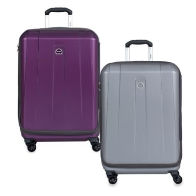 Delsey Shadow International 25-Inch Spinner in Platinum