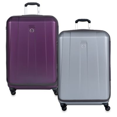 Delsey Shadow International 29-Inch Expandable Spinner in Platinum