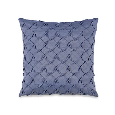 Laura Ashley Delphine Pleated Square Throw Pillow