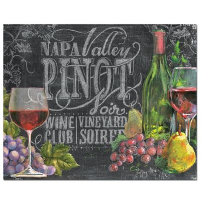 12-Inch x 15-Inch Glass Chalkboard Wine Cutting Board
