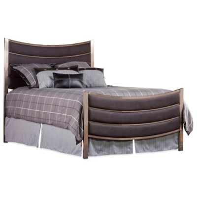 Hillsdale Montego King Bed in Nickel