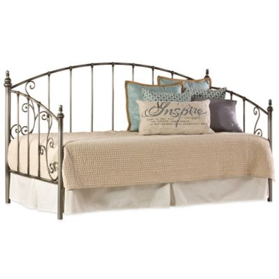 Hillsdale Ivy Daybed with Suspension Deck in Aged Pewter
