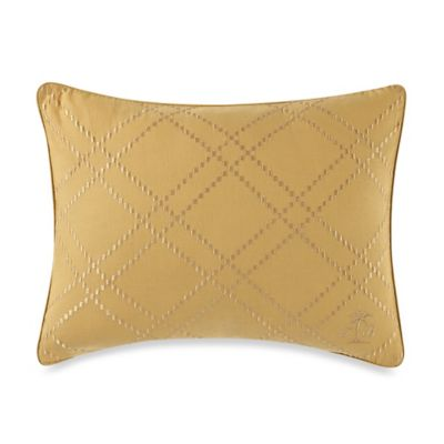 Tommy Bahama® Birds of Paradise Oblong Throw Pillow in Marigold