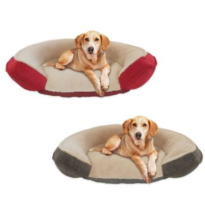 Thermatec Self-Warming Step-In Pet Bed in Lacquer Red