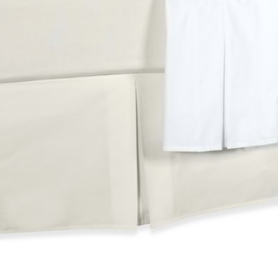Smoothweave™ Tailored Daybed Bed Skirt in White