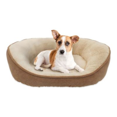 Thermatec Self-Warming Dreamer Pet Bed in Bamboo