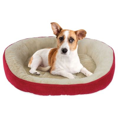 Thermatec Self-Warming Dreamer Pet Bed in Lacquer Red