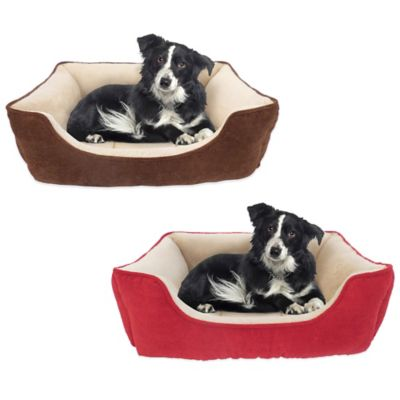 Thermatec Self-Warming Pet Lounger in Lacquer Red