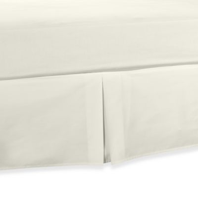 Smoothweave™ Tailored Daybed Bed Skirt in Ivory