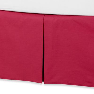 Anthology™ Kaya Twin Bed Skirt in Berry