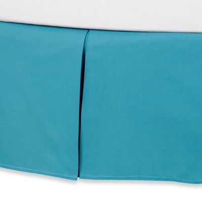 Anthology™ Kaya Twin Bed Skirt in Blue