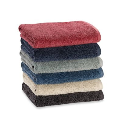 Kenneth Cole Reaction Home Vintage-Washed Bath Towel in Blue