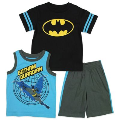 DC Comics™/Warner Bros® Batman Size 2T 3-Piece Tank, T-Shirt, and Short Set