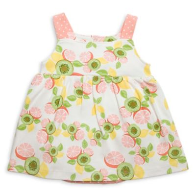 Rosie Pope® Baby Size 24M Kiwi Grapefruit Sundress